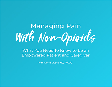 Managing Pain With Non-Opioids